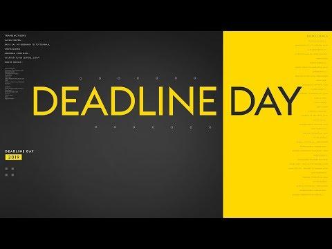LIVE! DEADLINE DAY FINAL HOUR! Latest on Lukaku, Luiz, Carroll, Tierney &  Zaha | Sky Sports News