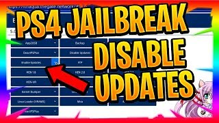 How To Disable Updates PS4 PlayStation 4 Jailbreak
