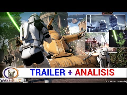 STAR WARS BATTLEFRONT 2 TRAILER + ANALISIS + TODOS LOS DLC GRATIS Y MAS