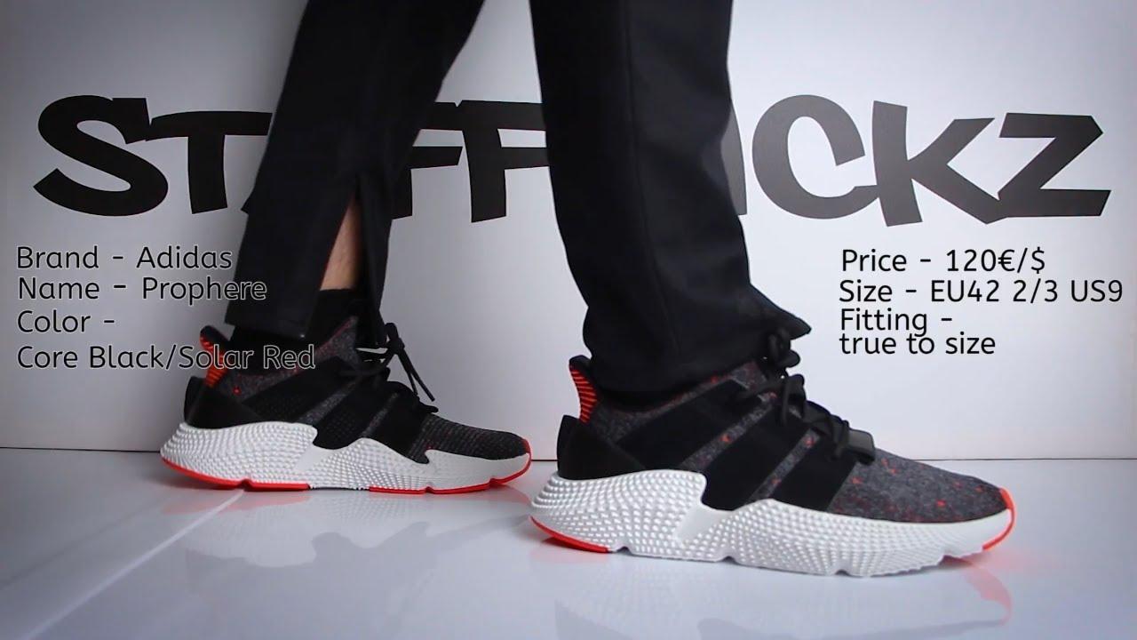 Adidas prophere in piedi su youtube