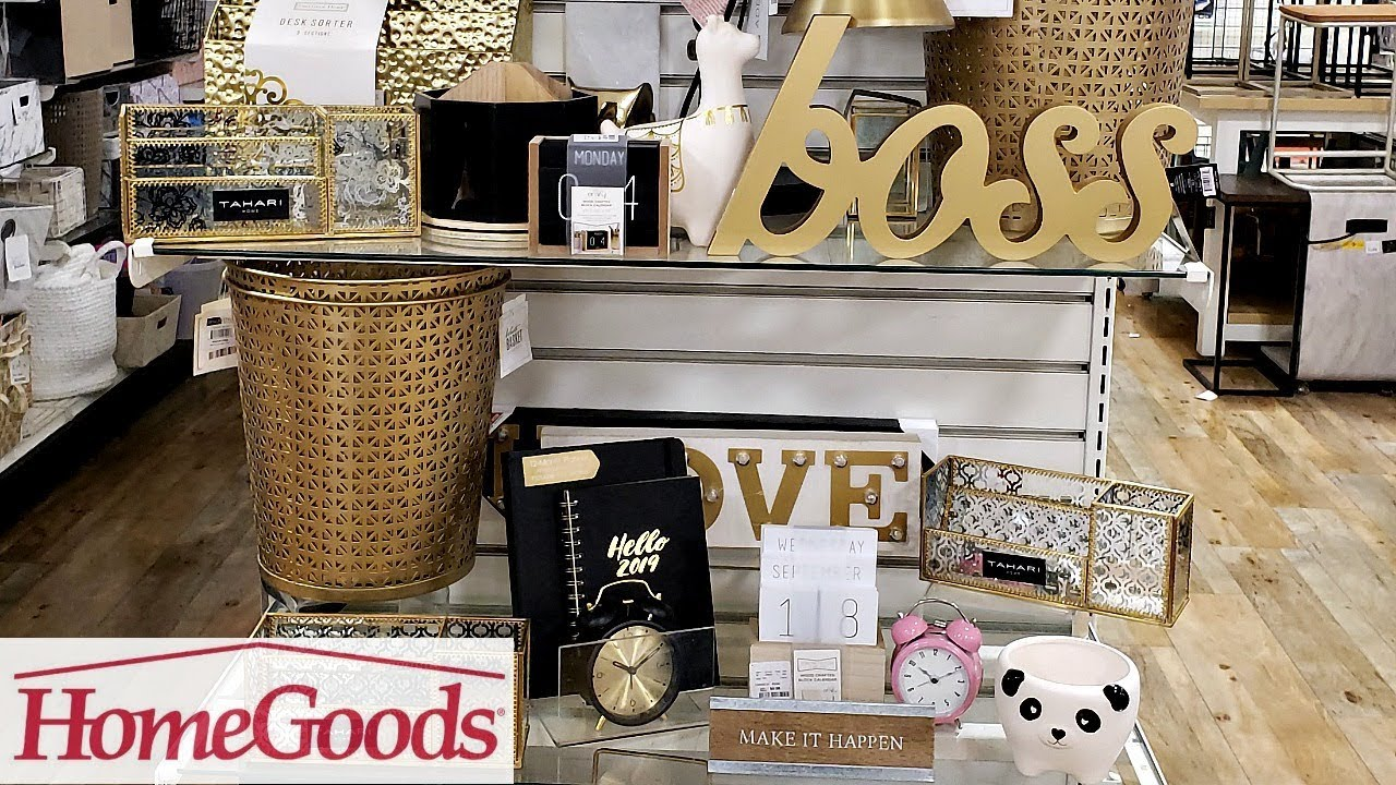 Homegoods Office Decor Ideas Shop With Me 2019 Youtube
