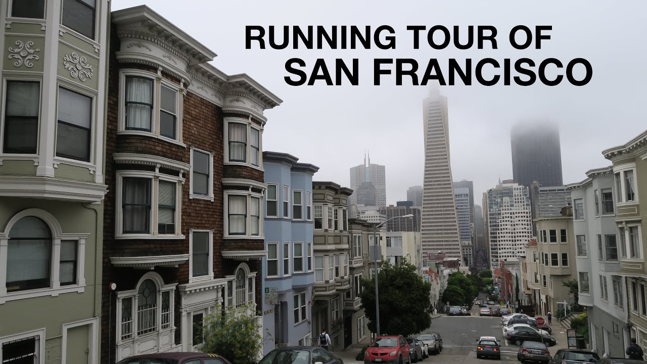 8c1a43f442dae9 Running Tour of San Francisco - YouTube