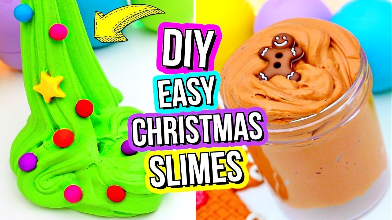 Diy fun holiday slime recipes how to make slime for christmas how to make slime for christmas gillian bower ccuart Image collections