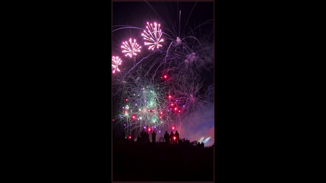Calgary Stampede Fireworks 2018 Quot Just Being There Quot Youtube