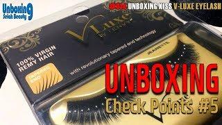 #014 Unboxing Kiss V-Luxe Eyelash