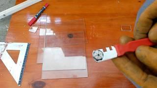 Glass cutter cutting(coupe verre)Ebay stash