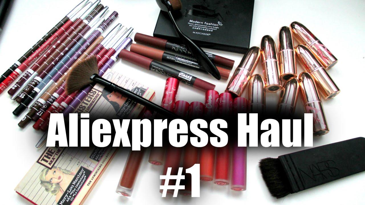 852efc259a ALIEXPRESS MAKEUP HAUL  1 - YouTube