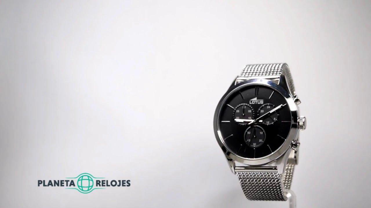 a1fa555c3f85 Reloj Lotus 18117-2 - YouTube