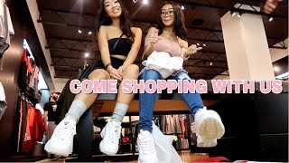 COME SHOPPING WITH US! Ft. My Girls 🤩💘