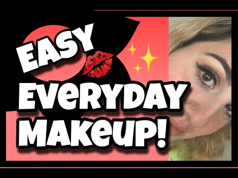 Easy Everyday Makeup / under 7 minutes!