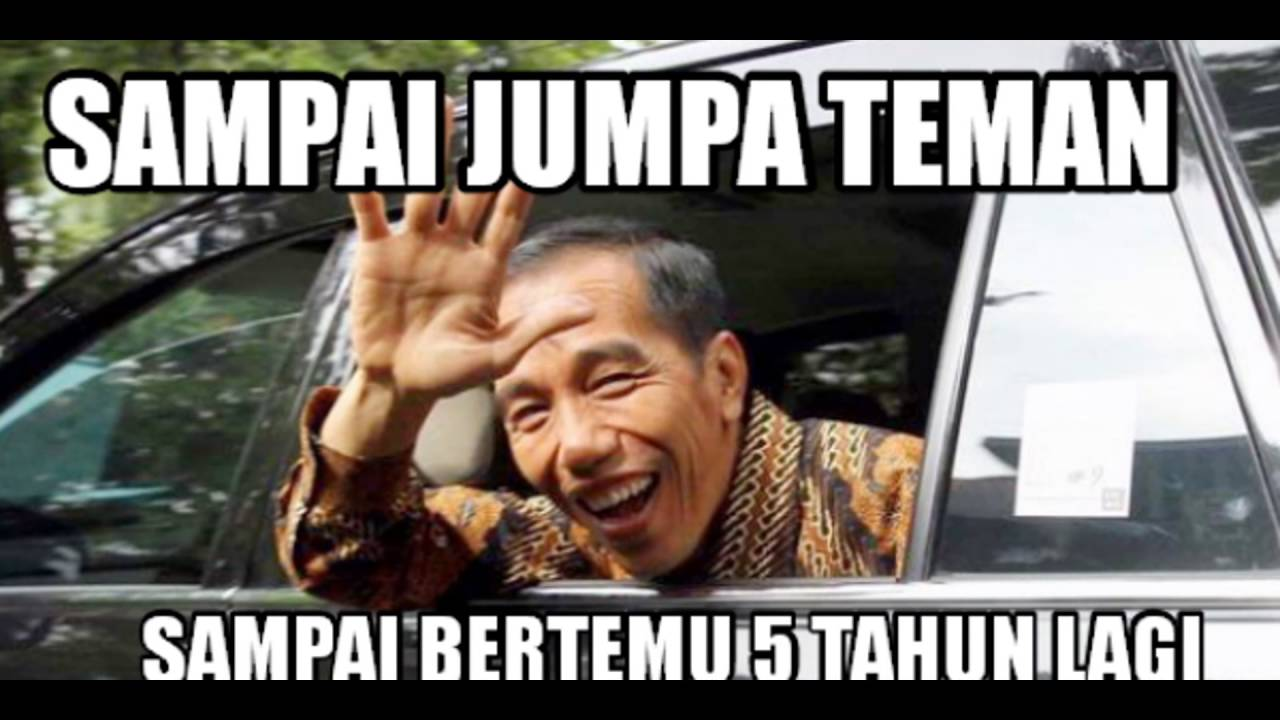 Meme Presiden Jokowi YouTube