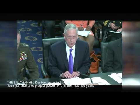 "Mad Dog Mattis, Gen. Dunford Dark Prophecy for the U.S. military ""A Hollow Force"""