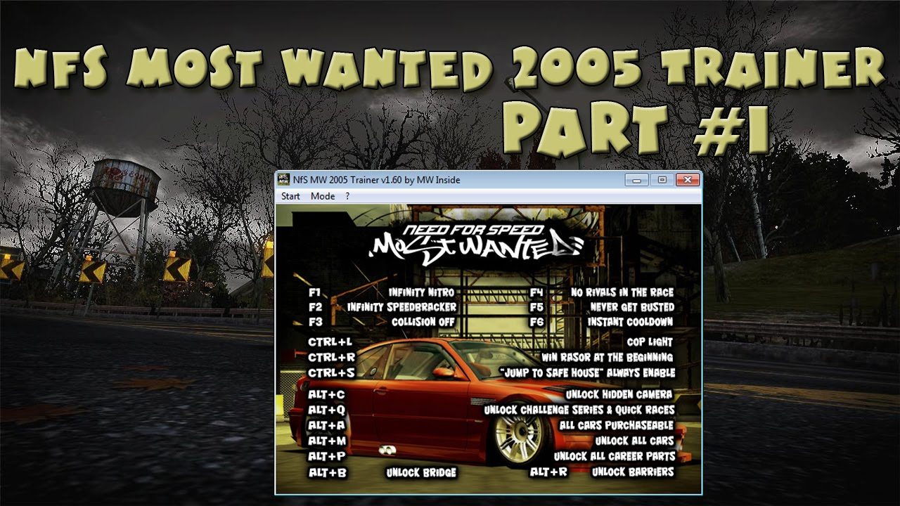 Need for Speed Most Wanted 2012 Trainer Free Download