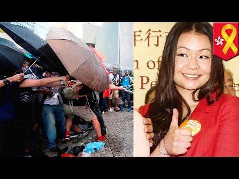 Hong Kong protests: CY Leung's spoiled daughter mocks Hong Kong activists