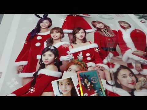 트와이스 (TWICE) TWICEcoaster: Lane 1 Christmas Edition Unboxing (3 Albums)
