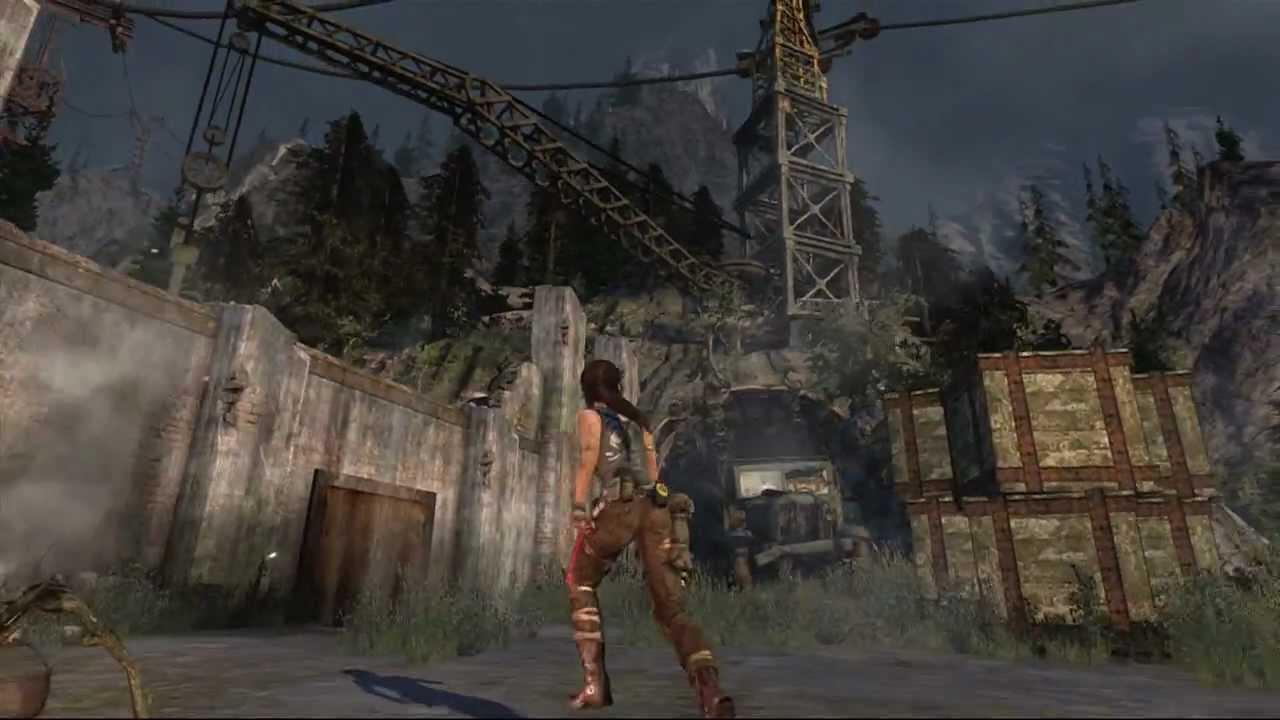 Tomb Raider Cliffside Bunker Previous Inhabitants