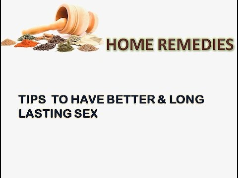 Tip for longer lasting sex