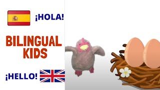 Las gallinas de la Señora Sato - Spanish stories for children -  - Cuentos en español