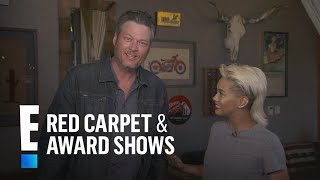 """Blake Shelton on Being the """"Old Guy"""" at the 2018 CMT Awards   E! Live from the Red Carpet"""