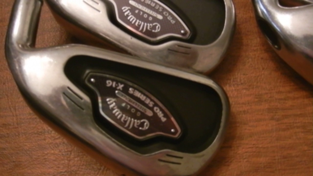 Callaway Steelhead X 16 Pro Series Iron Set 3 P Youtube