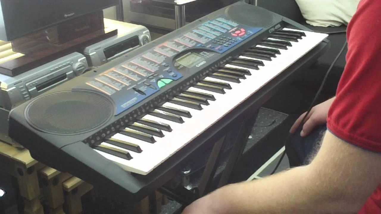 casio ctk 495 keyboard 100 auto accompaniment styles part 2 2 youtube