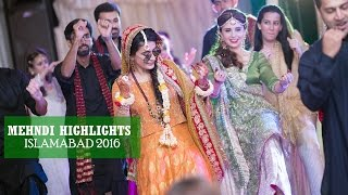 F&A Paradise Complex Mehndi 2016 Cinematic Video Islamabad |  Shehroz Malik Films |