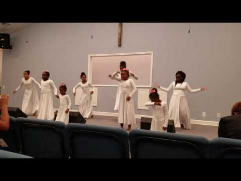 Mt. Carmel Ministries praise dancer's