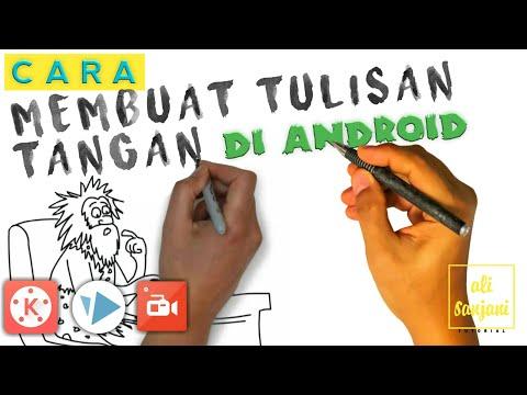 MEMBUAT TULISAN TANGAN | VIDEO SCRIBE TUTORIAL ( ANDROID )