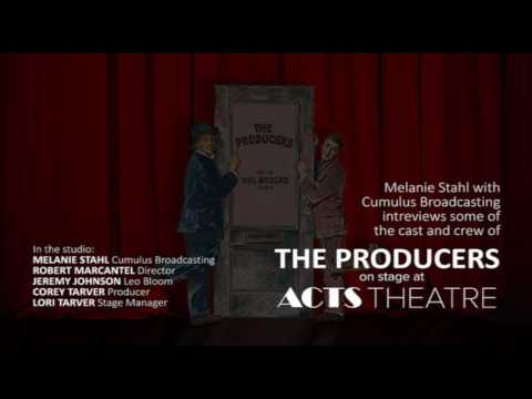 Cumulus Broadcasting interviews the cast and crew of The Producers.