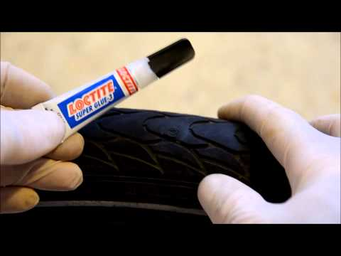 [DIY] How to fix a punctured bicycle tire