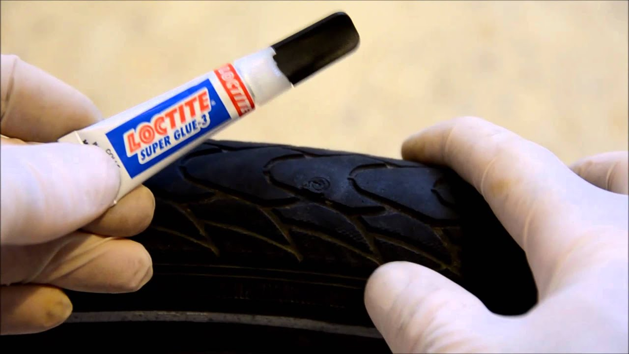 [DIY] How to fix a punctured bicycle tire - YouTube