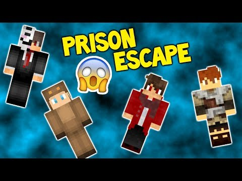 Escaping Ryguy with Moose and Cyclone! | Minecraft Prison Escape