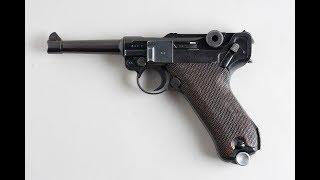 The Fatmans 1918 Luger P08 Parabellum Pistol