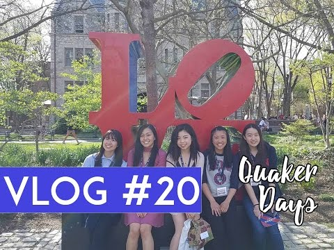 [VLOG #20] Come with me to UPENN! | Quaker Days