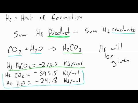 Calculate Heat of Reaction