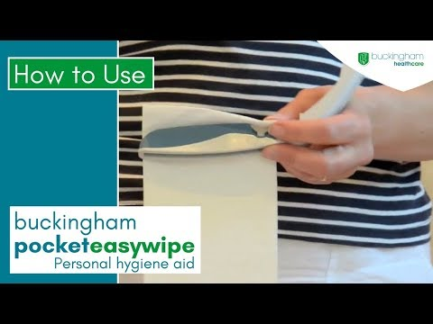 Buckingham Pocket Easywipe