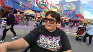 Andy Milonakis Disabled Scooter Around Universal Studios (Stream Highlights)