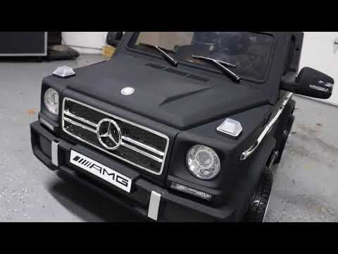UNBOXING & LETS PLAY - MERCEDES AMG G65 Ride On By Best Choice Products