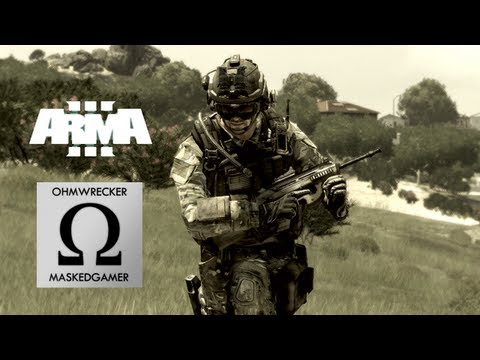 Arma III with Ohmwrecker! Escape from Stratis!