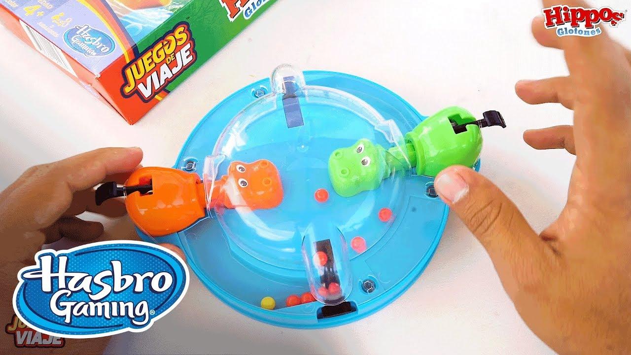 Hippos Glotones Demo Hasbro Gaming Latino America Youtube