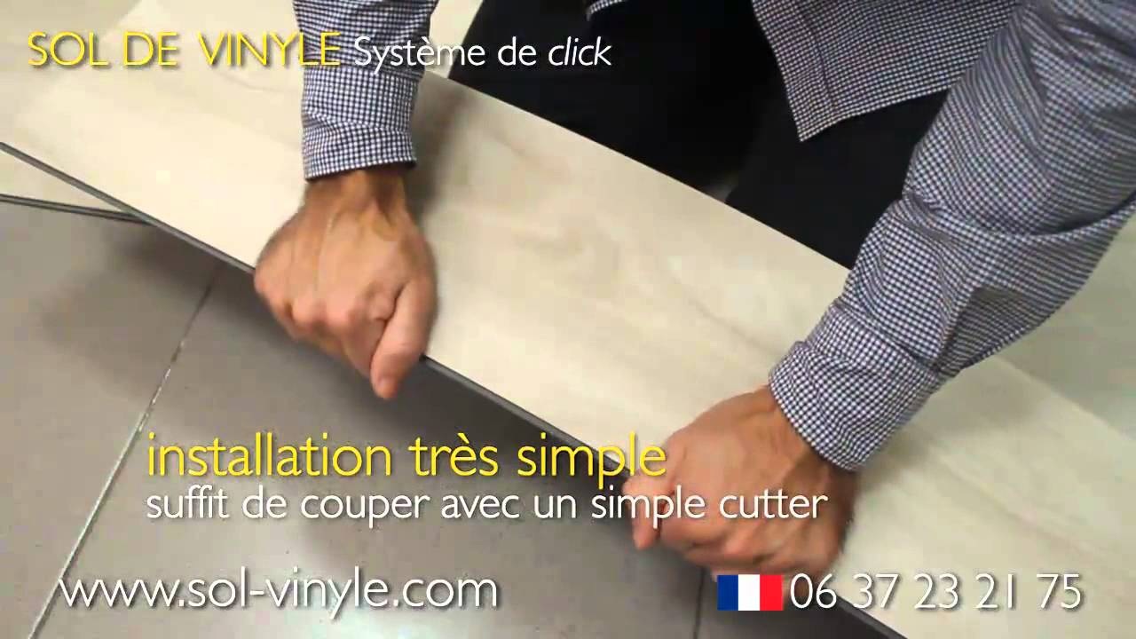 Acheter parquet autocollant sol de vinyle youtube for Joints carrelage salle de bain