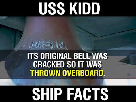Ship Facts – USS Kidd
