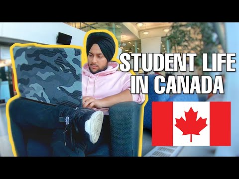 STUDENT LIFE IN CANADA 🇨🇦