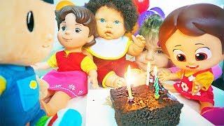 Pepee Sürpriz Doğum Günü Pastası - Heidi Eylül Barbie Niloya Hediye - Eğlenceli Video - Tontik TV