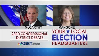 23rd Congressional Debate: Kevin McCarthy and Kim Mangone (Part 1)