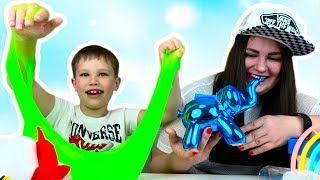 MYSTERY BOX подарок с ADIDAS, VANS и Nike от Мистер Макс для Люды / Surprise toys