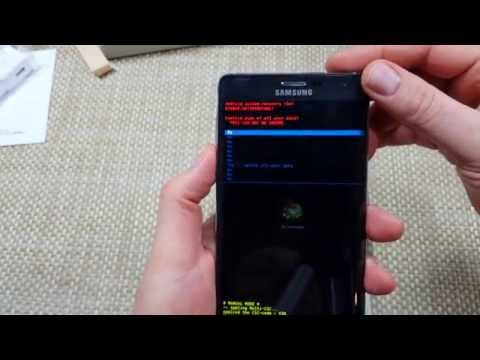 Samsung Galaxy Note EDGE Steps How to HARD RESET your phone