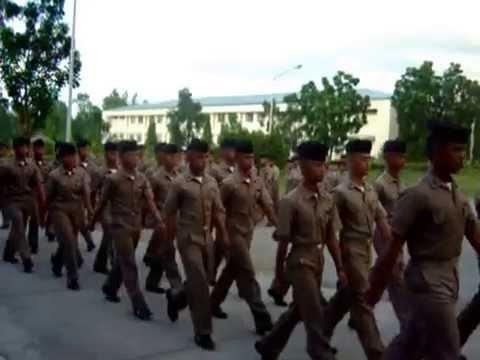 PMMA Philippine Merchant Marine Academy Midshipmen Proceeding For Evening Chow