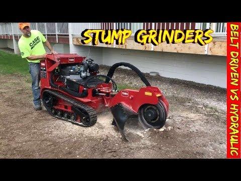 Stump Grinders - Toro, Terex Or Vermeer Which Is The Best?