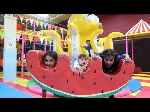 Birthday Party Indoor Playground Kids Fun - Zack is 2 ! Family Vlog Video